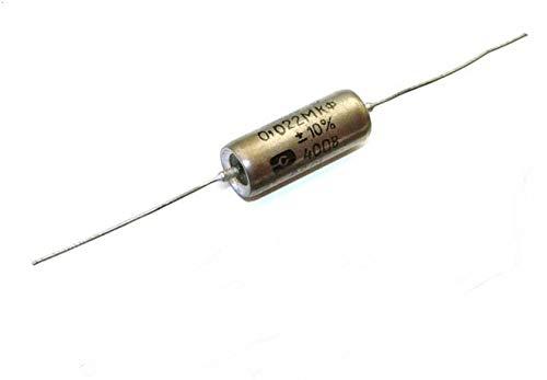 K40Y-9 Condensador Capacitor 0.022uF .022uF 400V papel en aceite PIO para bajo y guitarra eléctrica NEW OLD STOCK
