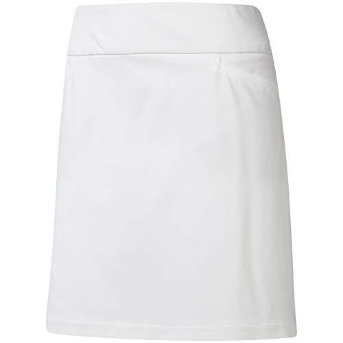 adidas Ultimate Adistar Skort Falda, Blanco (Blanco Dq2127), Large (Tamaño del Fabricante:LL) para Mujer