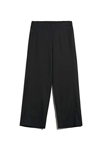 ARMEDANGELS KAMALAA - Damen Hose aus Tencel™ Lyocell M Black Hose Stoffhose Relaxed Fit