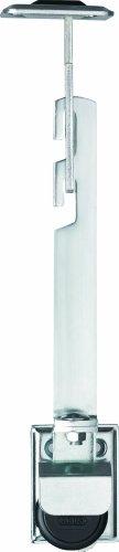 ABUS Gitterrostsicherung GS60 - Schutz für Kellergitter - mit Zugstab und großen Halteplatten - ABUS-Sicherheitslevel 8 - 04631 - 2er Set
