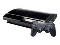 Console PS3 40 Go noire + Manette PS3 Dual Shock 3 - noire