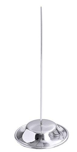 Bonspieß aus Edelstahl 18/10, mit geschärfter Spitze / Ø Boden: 9 cm, Höhe: 22 cm | ERK