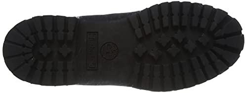 Timberland Men's 6 inch Premium Waterproof Boot, Black Nubuck, 10 W