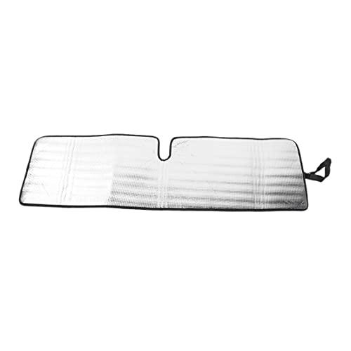 ZALAGA Parasol de Parabrisas para TJ JK JKU 1997-2018, Parasol de Laminado Triple de Papel de Aluminio Protector TéRmico