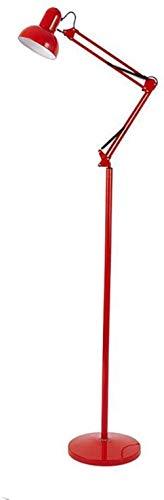 Floor Lamp CWT Appliance Belleza Ojo Tatuaje Pedicura Semipermanente Lámpara de trabajo (Color: Rojo)