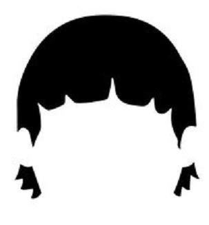 Bob's Burger Carton Gene Belcher Head Logo Vinyl Stickers Symbol 5.5' Decorative DIE Cut Decal for Cars Tablets LAPTOPS Skateboard - White Color