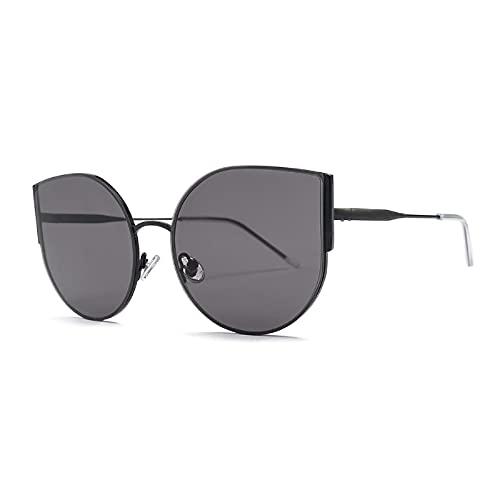 NBJSL Retro Simple Cat Eye Gafas de sol Señoras Uv400 Gafas de sol protectoras Exquisito embalaje de regalo