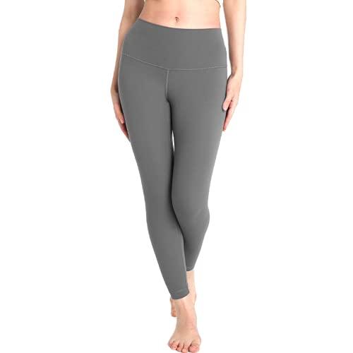 QTJY Pantalones de Yoga de Malla de Gimnasio de Cintura Alta sin Costuras para Mujer, Leggings Deportivos Push-up de Secado rápido de Retazos de Moda EL