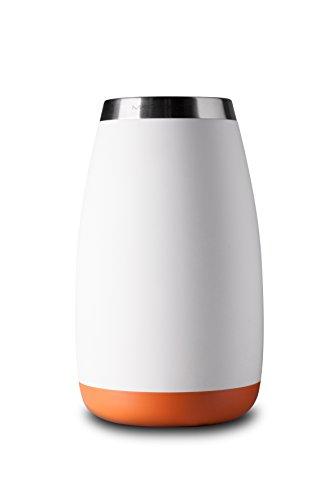 Mandahorn Aktiv-Flaschenkühler / Weinkühler Celsius Cream White Matt (Signal Orange)