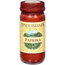 Spice Islands ground paprika in 2.1-ounce glass jar (Pack of 1)