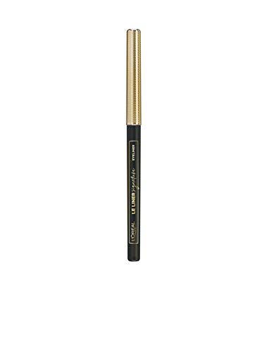 L'Oréal Paris Makeup Le Liner Signature Matita Automatica Occhi, Colore Intenso, Tratto Preciso, 01 Noir Cashmer, Confezione da 1