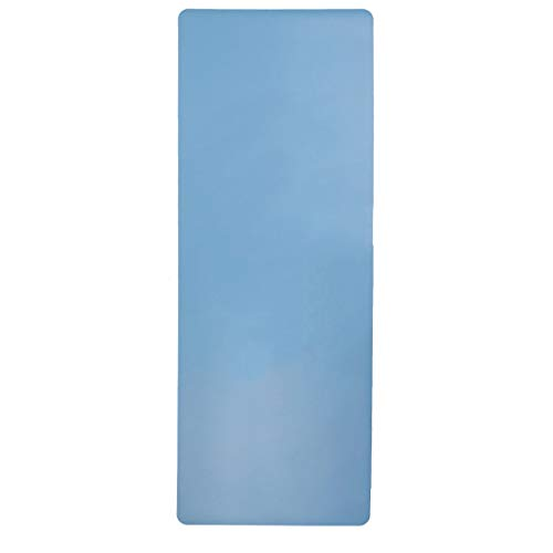 hsj LF- Esterilla de yoga para mujer, gruesa, gruesa, para principiantes, deportes, yoga, alargada, antideslizante, alfombrilla de fitness, antideslizante, color azul, tamaño: 183 x 68 x 5 mm