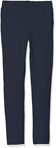 NAME IT NAME IT Mädchen NKFJAVI UNB SWE NOOS Leggings, Grau (Dark Sapphire), (Herstellergröße:92)