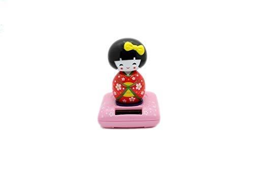 SOLAR Japanische Geisha Puppen - Rosa