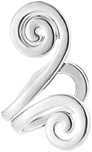 1PC Retro Crystal Earings Rhinestone Leaf Ear Cuff Earrings Warp Clip Ear Clip Women's Fashion Jewelry