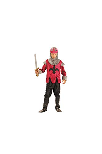 Party Pro- Knight Déguisement, 8728897279, Red