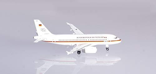 herpa 533409 Luftwaffe Flugbereitschaft Airbus A319, Wings/Flugzeug zum Sammeln, Mehrfarbig