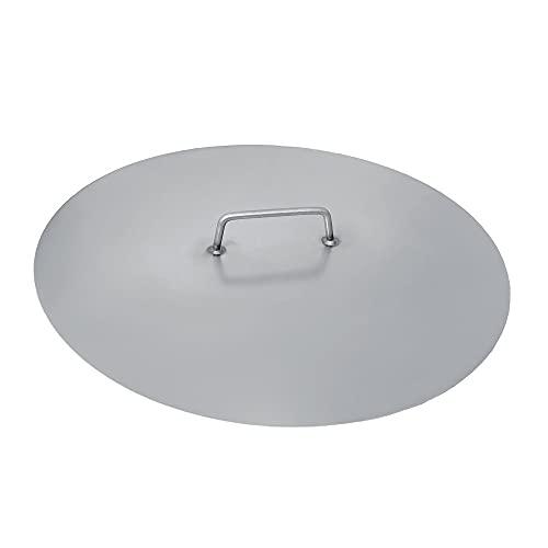 Czaja Feuerschalen® Deckel für alle Feuerschalen ; einfaches Ablöschen der Feuerschale ohne Wasser und zum Schutz vor Regen (Stahl, Ø 55 cm)