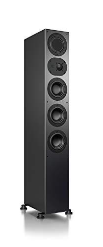 Nubert nuLine 264 Standlautsprecher   Lautsprecher für Musikgenuss   Heimkino & HiFi Qualität auf hohem Niveau   Passive Standbox mit 3 Wege Technik Made in Germany   Standbox Schwarz   1 Stück