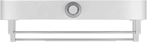 Radiador toallero eléctrico calefactado, riel toallero calefactado, para montaje en pared, secador...