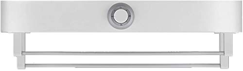 Radiador eléctrico para secadora, riel eléctrico, riel de toallas calefactadas, secadora inteligente, potencia de secado 500 W, desinfección UV 6 W, tensión 220 V, IPX1 im