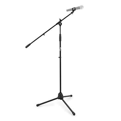 Tiger MCA68-BK Soporte para micrófono con brazo, soporte para micrófono con clip de...