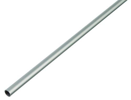 GAH-Alberts 473471 Rundrohr | Aluminium, silberfarbig eloxiert | 1000 x 25 x 1,5 mm