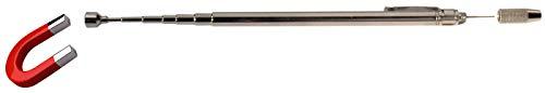 BGS 3091 | Magnetheber | 660 mm | Zugkraft 0,5 kg | ausziehbar | Teleskop-Magnetheber | Teleskopmagnet | Magnetstab | Magnetgreifer
