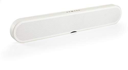 Dali - Katch One soundbar fur Fernsehbildschirme - Bluetooth-Portables - HiFi-Klangqualität mit frischen Design - Leistungsstarken 4 x 50 W-Verstärker - Farbe: Weiß