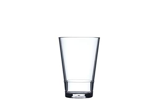 Mepal Kunststoffglas Flow 275 ml, Kunststoff, Klar, 85 x 8.5 x 12 cm