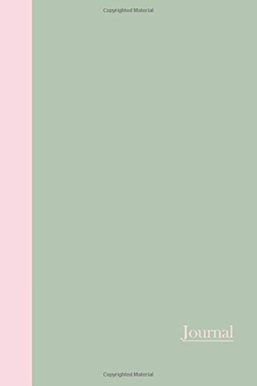 クロスやむを得ない家族Journal: Color Duo (Sage Green and Pink) 6x9 - LINED JOURNAL - Writing journal with blank lined pages (Monsters and Aliens Lined Journals)