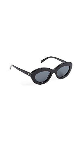 Le Specs Da Donna occhiali da sole Fluxus Nero Unica Taglia