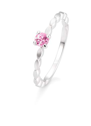 Breuning - Verlobungsring Safir pink, 42/03331-0-34