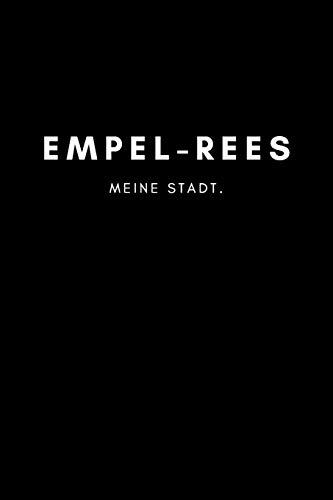 Empel-Rees: Notizbuch, Notizblock, Notebook | 120 freie Seiten mit Rahmen,