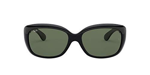 Ray-Ban Jackie Ohh 601 58 Gafas de Sol, Black, 57 para Mujer
