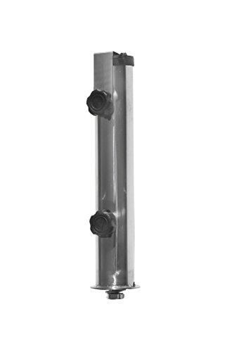Edelstahl Ersatzrohr Hülse für PROKIRA Sonnenschirmständer Granit 25KG auch Universell einsetzbar