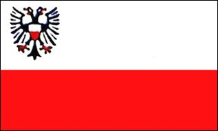 Outdoor - Hissflagge Lübeck 90 * 150 cm Flagge