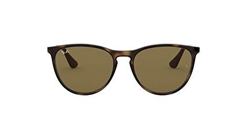 Ray-Ban Unisex Izzy Sonnenbrille, Mehrfarbig (Gestell: Havana/Gunmetal, Gläser: Braun Klassisch 700673), Medium (Herstellergröße: 50)