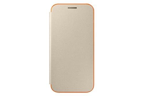 Samsung Neon Flip Cover für Galaxy A3 (2017) gold