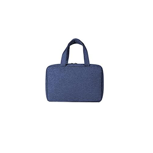 duoying Bolsa de aseo para colgar, gran bolsa de viaje para afeitar, bolsa de maquillaje plegable, bolsa de aseo de gran capacidad resistente al agua para hombres y mujeres