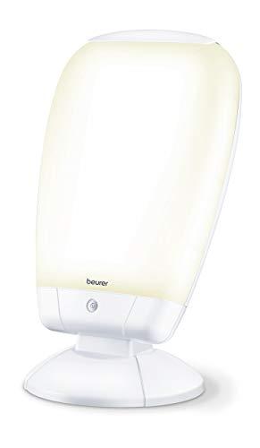Beurer TL 80 Lampe de Luminothérapie - 10.000 Lux - Combattez le Blues Hivernal - Simulation de la Lumière du Jour - Angle d'Inclinaison Réglable en Continu