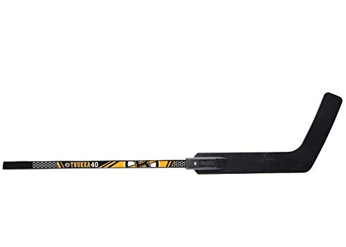 Franklin Sports Tuukka Rask Tuukka Rask Street Hockey Goalie Stick - 2pc Wood Shaft & Polymer Blade - 48' - NHL Official Licensed Product