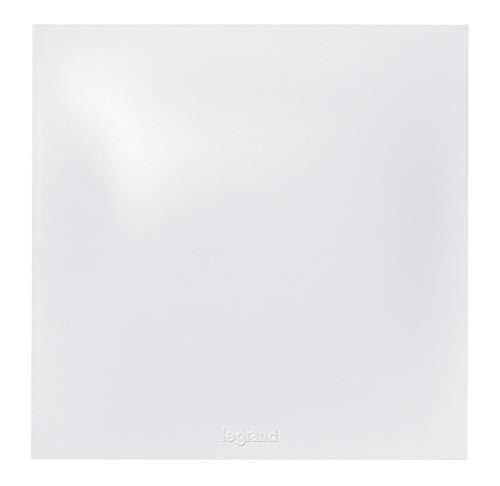Legrand 091340 Plaque Obturatrice Neptune, Blanc