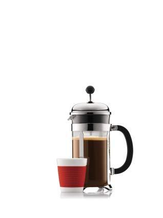 Bodum CHAMBORD Kaffeebereiter 1l glänzend