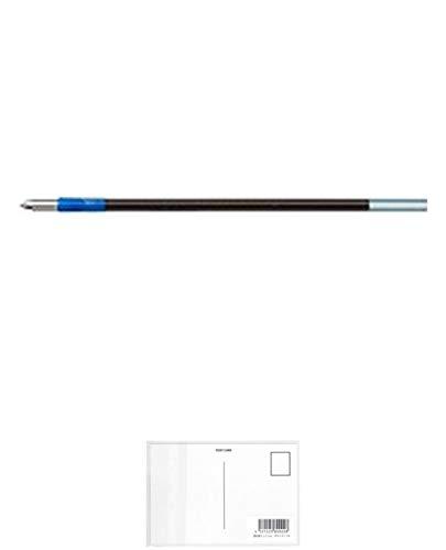 トンボ BR-CL15 ボールペン替芯 青 【10本セット】 + 画材屋ドットコム ポストカードA