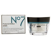 Boots No7 Protect & Perfect Intense Day Cream, SPF 15, 1.69 fl oz - 2pc by Boots