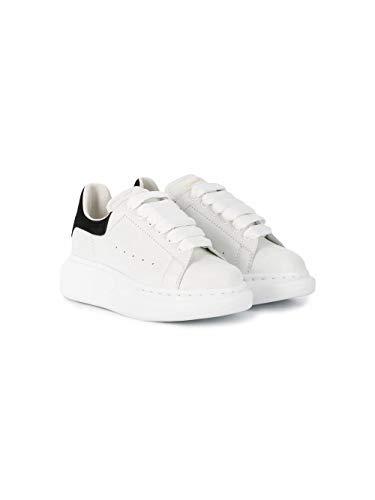 Alexander McQueen Luxury Fashion Junge 587691WHX129061 Weiss Leder Sneakers | Herbst Winter 20