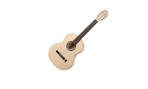 Hopf/Hellweg Classic Junior IV SH Gitarre (Schüler-Gitarre, ideal für das Alter von 11-14 Jahre) Naturhell