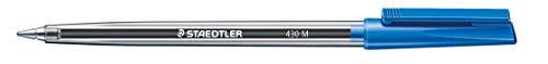 Staedtler 430 M-3 Stick 430 - Bolígrafos (10 unidades), color azul