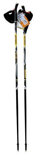 CCB Bastones – Bastones Nordic Walking Gabel de aleación de aluminio, longitud fija y liberación rápida de los guantes, fabricado en Italia, mod. Stride Light 125MF3 Pos6